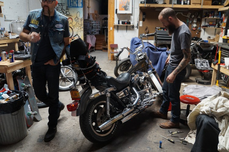 Brandon fixes up his new FXR