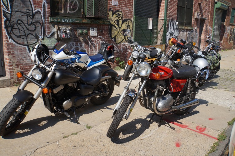 Assortment of bikes