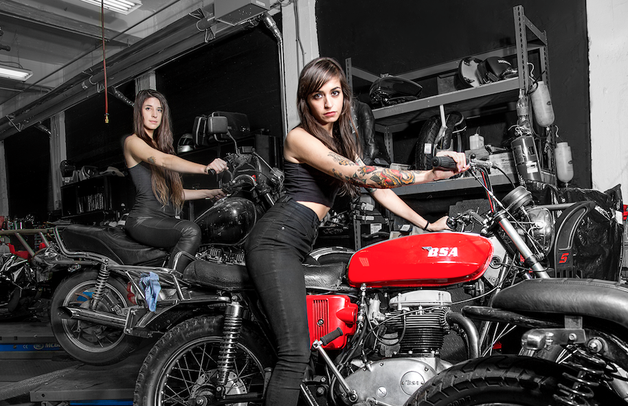 Logically Pics of naked women on motorcycle share